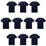 Embroidered T Shirts 10 Pack